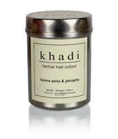 New Khadi Herbal Henna Amla & Jatropha Hair Color Natural Product- 150 gm