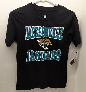 Jacksonville Jaguars NFL Short Sleeve T-Shirt Youth Size M (10/12) **NWT**