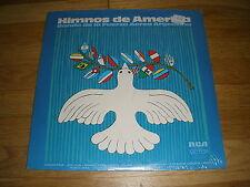 HIMNOS de AMERICA banda de la fuerza aerea Argentina LP Record - Sealed