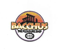 "Space Above and Beyond TV Series Bacchus Logo Embr. 3.25"" Premium Quality Patch"