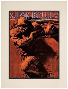 """1971 Colts vs Cowboys 10.5"""" x 14"""" Matted Super Bowl V Program - Fanatics"""