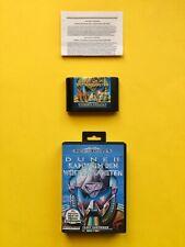DUNE II 2 Wüstenplanet KAMPF Sega MEGA DRIVE Spiel + OVP Cib Box DEUTSCH Genesis
