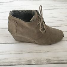 TOMS Desert Wedge Right Shoe Only Replacement Amputee Womens 9