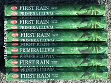 Hem First Rain Incense 6 x 20 Stick, 120 Incense Sticks Fruity New0