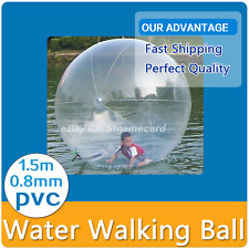1.5M Water Walking Roll Ball Inflatable Zorb Ball Germany TIZIP Zipper for Kids