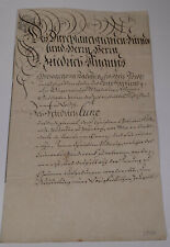 Geburtsbrief Colditz 1799 für Johann Christian Ludewig (*1782)