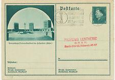 DT.REICH Friedrich Ebert 8 Pf Bildpost-GA TANNENBERG Nationaldenkmal HOHENSTEIN