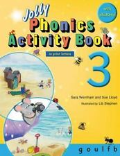 Jolly Phonics Activity Book 3 (in Print Letters) (Paperback or Softback)