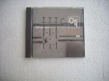 CTI RECORDS  /  CTI CLUB CLASSICS - VARIOUS ARTISTS  -  JAPAN CD opened