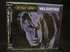 VALENTINE (ROBBY) No Sugar Added JAPAN CD Valensia Ayreon Edenbridge Holland