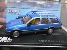 OPEL Rekord E Caravan Kombi E2 blau blue met 1982 - 1986 IXO Altaya SP 1:43