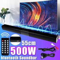 Home TV Wireless bluetooth Soundbar Speaker Sound Bar Theater Subwoofer USB RCA