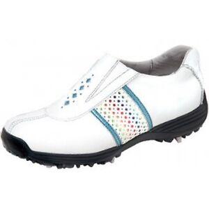 Sandbaggers Golf Shoes: Prisma White