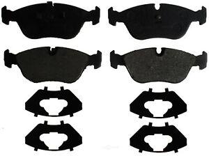 Disc Brake Pad Set-Semi-Metallic Front ACDelco Advantage 14D618M