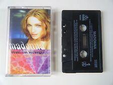 MADONNA BEAUTIFUL STRANGER CASSETTE TAPE SINGLE WARNER MAVERICK UK 1999
