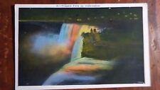 Falls by Illumination, Exceeds Sun's Brilliance, Niagara Falls, CN - 1930