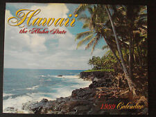 1999 HAWAII THE ALOHA STATE 13 MONTHS CALENDAR 12 FULL COLOR PICTURES - NEW