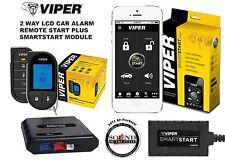 Viper 5706V 2 Way LCD VSM200 SmartStart Remote Starter Car Alarm & DBALL2 Bypass