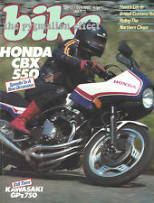 GPz750Kawasaki Z750GP XS400 Yamaha DT125LC CBX550F2 Honda CB400N Superdream GPz