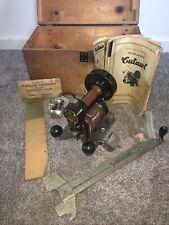 Vintage International K9A CUTAWL Cutting Machine With Wooden Case, Manual, Bulb