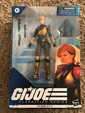 "2020 HASBRO G.I. JOE CLASSIFIED SERIES 6"" ACTION FIGURE #05 SCARLETT Ship Fast"