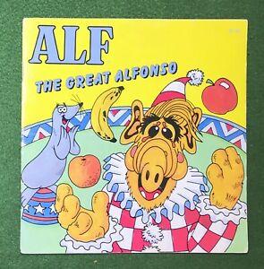 ALF The Great Alfonso 1987 Checkerboard Press Classic 80s Sitcom Alien TV funny