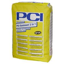 PCI Saniment 2 in 1 Sanierputzmörtel Sanierputz 25kg Wasserabweisend Putz weiß