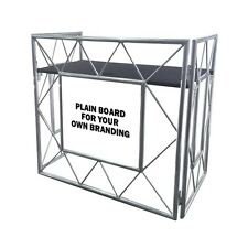 Equinox Truss Booth System Lightweight Collapsible Mobile DJ Disco Stand & Shelf