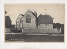 St Michaels Church South Lancing Sussex 1935 Postcard 567b