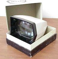 """MAXIM COLOUR SLIDE VIEWER 2"""" x 2"""" VINTAGE MAXIM VIEWER 2""""x2"""" IN BOX MADE JAPAN"""