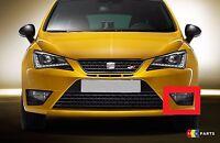 NEW GENUINE SEAT IBIZA CUPRA 13-16 FRONT N/S LEFT FOG LIGHT GRILL 6JL853665A 9B9