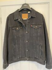 Levi 's Premium Trucker Jacket in dark grey  - XXL  - Brand New - RRP £95.00