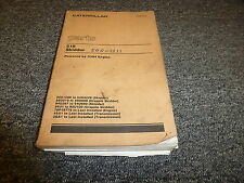 Caterpillar Cat 518 Grapple Skidder w/ 3304 Engine Parts Catalog Manual Book