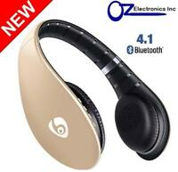 Ovleng Gold S66 Wireless Bluetooth V4.1 Headphones folding Brand New Australia