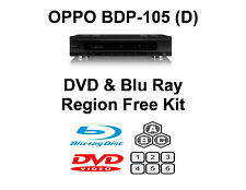 Oppo BDP-105 / 105D DVD & Blu Ray Region Free Unlock Kit.