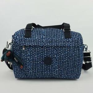 KIPLING FLORA Handbag Shoulder Crossbody Bag Printed Notes