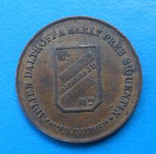 02 Aisne Harly manufacture de broderies mécaniques 5 centimes Elie 10.1