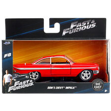 Jada Fast & Furious 8 Dom's Chevy Impala 1:32 98304 Red