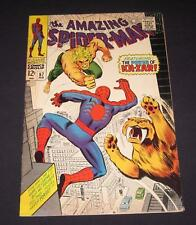 AMAZING SPIDER-MAN #57 VG+ (4.5) 12¢ cover Marvel Comic | battles Ka-Zar!