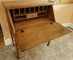 Stickley Furniture -Mission Collection - Roycroft Drop-Front Desk - Rare