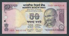 F.C. INDIA , 50 RUPIAS 1997 , S/C ( UNC ) , P.90a .
