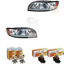 Headlight Set Volvo S40 YV1 Year 04/07- >> Incl. Motor H7 +H9 Incl. Lamps Ezk