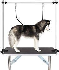 "Adjustable Clamp Overhead Large 46"" Dog Pet Grooming Arm w/ Double Grooming Loop"
