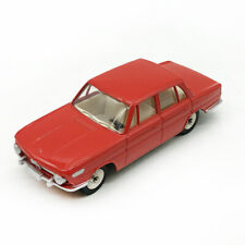 DeAgostini Dinky Toys 534 BMW 1500 Model Car RED ALLOY 1/43 DIECAST COLLECTION
