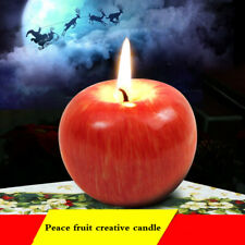 Apple shaped candles Christmas decorations candles holiday candles romanticparty