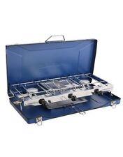 Campingaz Chef Folding Stove Double Gas Burner & Grill 4500-Watt