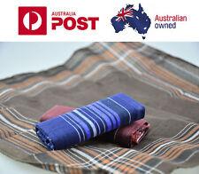 12 X  Gentleman Hankies Cotton 3 Colors 100% Cotton Pocket Square  Handkerchief