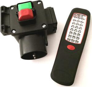 Schalter; Nullspannungsschalter für Kreissäge + AL-240 Leuchte