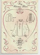 Susan Oliver Work of Heart VERY VICTORIAN BLOUSE Heirloom Sewing Pattern Sz 6-22