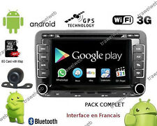 autoradio vw golf 5 6 passat tiguan polo GPS bluetooth WIFI ANDROID + CAMERA